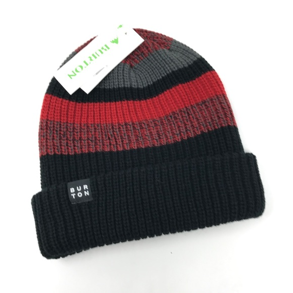2411063d501 Burton Boy s One Size Chute Beanie Hat NEW HA2
